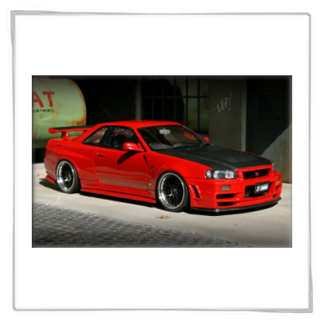 skyline gt r r34 z tune bbs lm extreme 18 tuning 1 18. Black Bedroom Furniture Sets. Home Design Ideas